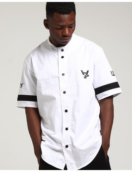 The Anti Order Leisure Baseball Jersey White/Black by The Anti Order