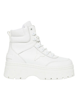 Laken White Boot by Windsor Smith