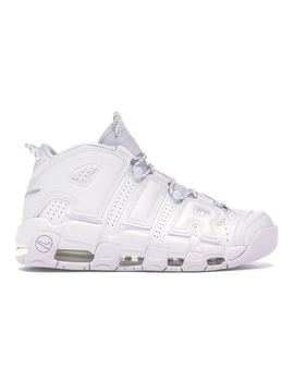Air More Uptempo Triple White by Stock X