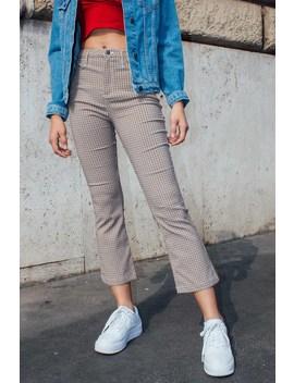 Pantaloni A Zampa Crop by Subdued