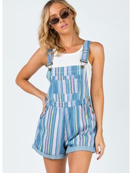 Carley Overalls Multi by Princess Polly