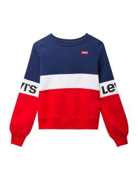 Colour Blocked Logo Sweat   Multi by Levi's