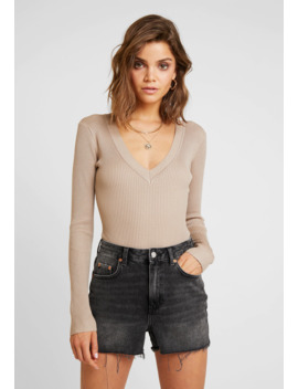 Plunge V Neck Body   Jumper by Missguided