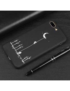 Moon Case Silicon Phone Case For I Phone X Xs Max Xr 7 Plus 6 6 S Plus 5 5 S 5 Se Soft Tpu Cover 003 by Etsy