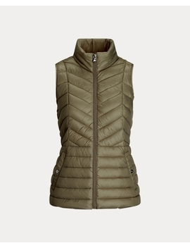 Packable Quilted Gilet by Ralph Lauren