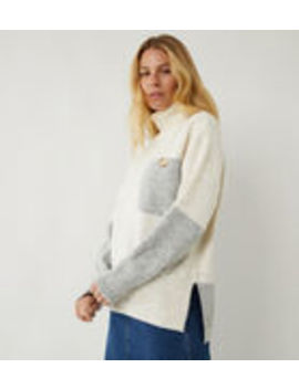 Utility Cowl Neck Jumper by Warehouse