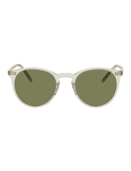 Transparent O'malley Sunglasses by Oliver Peoples