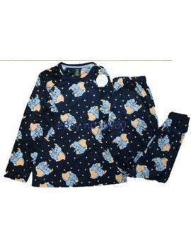 Disney Dumbo Blue Ladies Fleece Christmas Pyjamas Primark 2 Piece by Ebay Seller