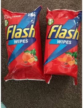 2 X Packs Of Flash 144 Wipes Festive Christmas Scent Clementine And Clove by Ebay Seller