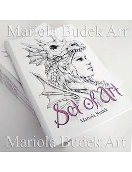 Set Of Art   Mariola Budek   24 Coloring Pages by Etsy