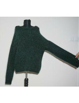 Acne Studios Kid Mohair/Wool Dark Green Lagenlook Sweater Jumper, Size:L by Ebay Seller