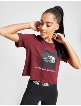 The North Face Box Logo Crop T Shirt by The North Face