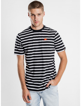 Sailo T Shirt In White & Black by Glue Store