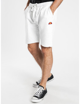 Noli Shorts In White Marle by Glue Store