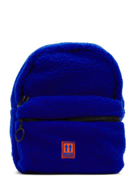 Blue Sherpa Mini Backpack by Off White