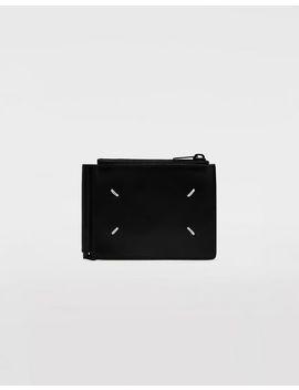 Brieftasche Aus Leder Mit Geldschein Clip by Maison Margiela