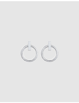 Earrings Ear Studs Circles Geo Look Basic Trend In 925 Sterling Silver by Elli Jewelry