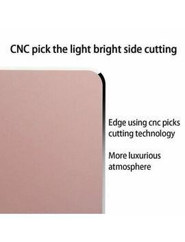 <Span><Span>Rose Gold Waterproof Anti Slip Aluminum Alloy Mouse Mat For Apple Mac Book Air Hp</Span></Span> by Ebay Seller