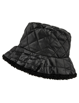Quilted Bucket Hat by Accessorize