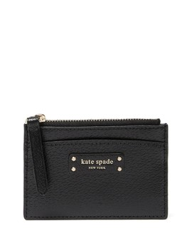 Jeanne Small Zip Leather Card Holder by Kate Spade New York