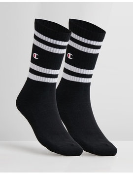 Branded Crew Socks 2 Pack by Champion