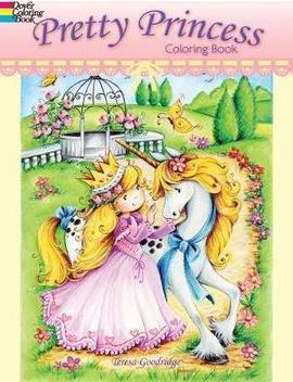 Pretty Princess Coloring Book by Teresa Goodridge