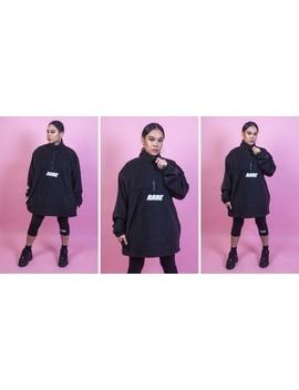 Hot Stuff Oversized Black Fleece by Custom Rare