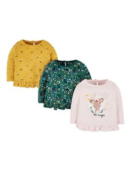 Mini Club 3 Pack Tops by Mothercare