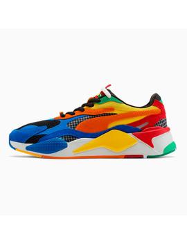 Puma X Rubik's Rs X³ Sneaker by Puma