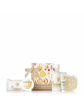 Soothing Almond Milk & Honey Festive Gift Set by The Body Shop