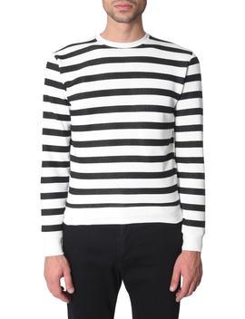 Saint Laurent Striped Sweatshirt by Saint Laurent
