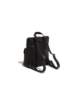 Suede & Leather Backpack by Oasis