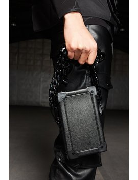 Black Box Phone Bag by Jaded London