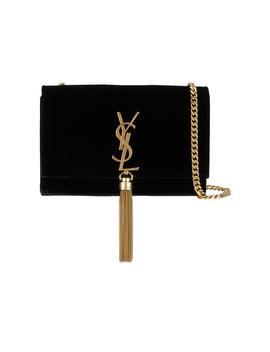 Saint Laurent Kate Tassel Wallet On Chain Tassel Black by Stock X