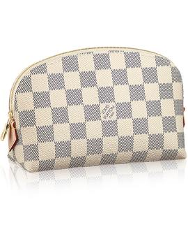 Louis Vuitton Cosmetic Pouch Damier Azur White by Stock X
