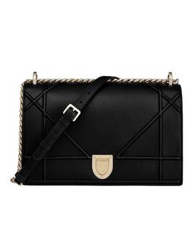 Dior Chain Wallet Diorama Cannage Gold Tone Black by Stock X