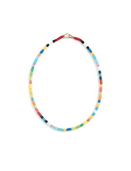 Starburst U Tube Necklace by Roxanne Assoulin