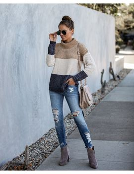 Broome Street Colorblock Chenille Sweater by Vici