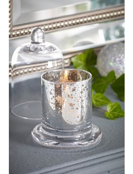 Snow Drop Cloche Candle by Next