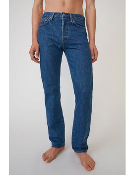 Classic Fit Jeans  Dark Blue by Acne Studios