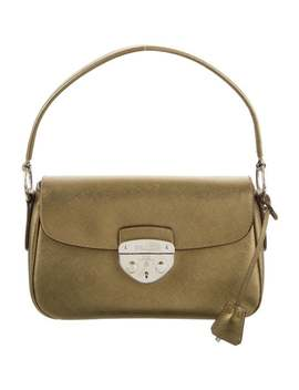 Saffiano Lux Handle Bag by Prada