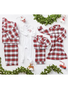 Morgan Plaid Family Pajama Collection by Pottery Barn Kids