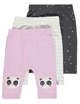 Pastel Short Sleeve Crochet Dresses 3 Pack by Asda