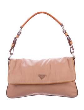 Tessuto Flap Bag by Prada
