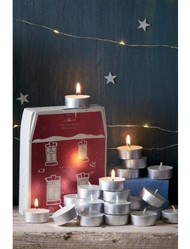 24 Pack Festive Spice Tealight Candles by Next