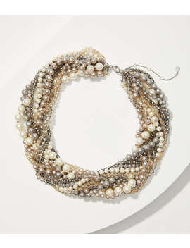 Pearlized Torsade Necklace by Loft