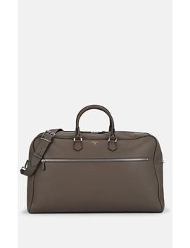 Leather Weekender Bag by Serapian