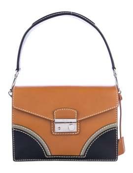 Patina Sound Handle Bag by Prada