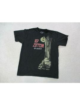 Led Zeppelin Concert Shirt Adult Large Black Red Rocker Tour Music Band Mens * by Led Zeppelin