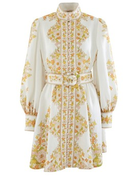 Robe Courte Super Eight by Zimmermann